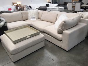💗4 PIECE CLOUD Replica Sectional Sofa Couch (Like Restoration Hardware) - $1,900💗 for Sale in US