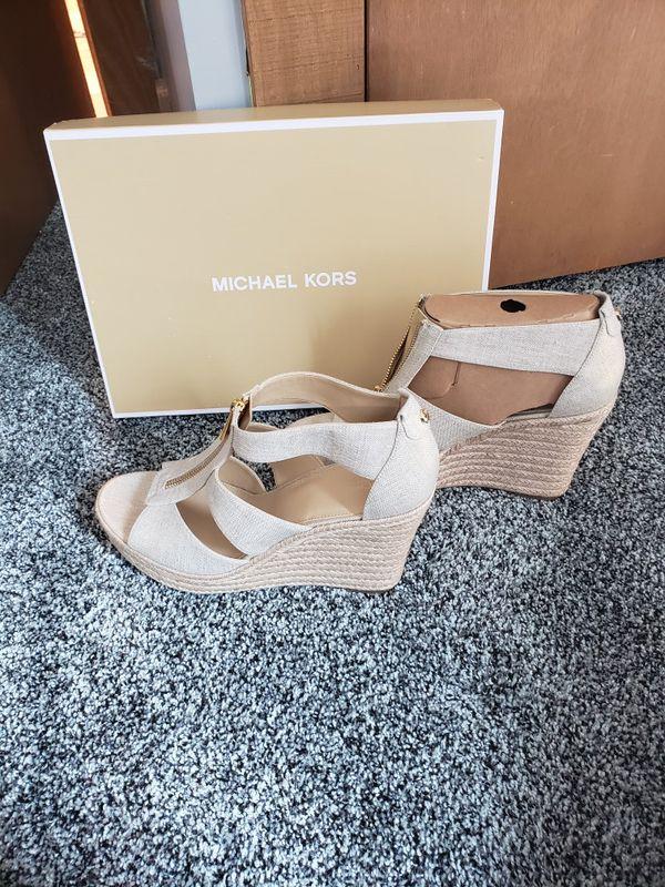 Michael Kors Wedges brand new in box!