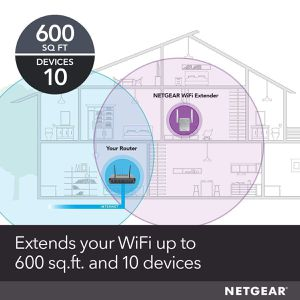 NETGEAR WiFi Range Extender EX2700 – Coverage up to 600 sq.ft. and 10 devices for Sale in Rancho Cucamonga, CA