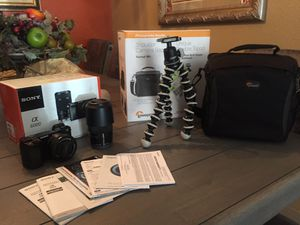SONY A6000 BUNDLE!! for Sale in Reno, NV