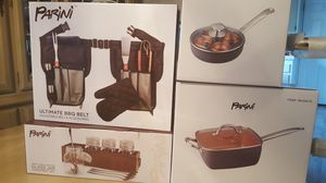 Copper pan set for Sale in San Dimas, CA