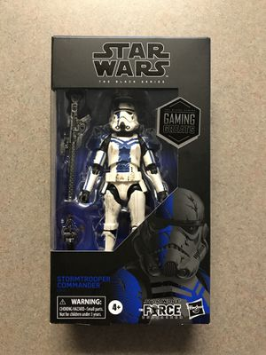 Stormtrooper Commander Black Series Star Wars GameStop Exclusive Gaming Greats *BRAND NEW SEALED* Action Figure Collectible E9497 Hasbro Disney for Sale in Flower Mound, TX