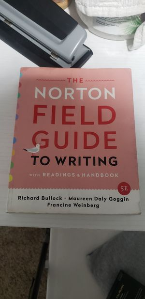 Norton field guide 5th edition college English book for Sale in Olmsted Falls, OH