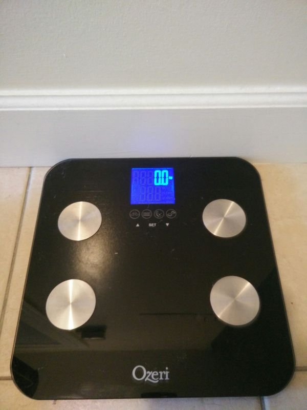 Ozeri Touch 440 lbs Total Body Bath Scale