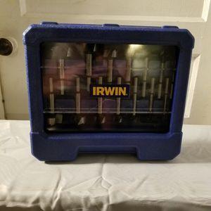 IRWIN Marples Forstner Bit Set, 14-Piece (1966893) for Sale in Nicholasville, KY