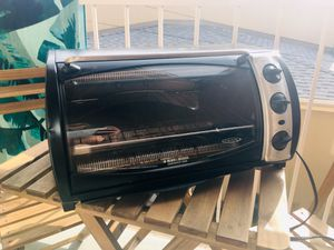 Black and Decker Countertop Stove Like NEW! / toaster oven / kitchen appliance for Sale in San Diego, CA