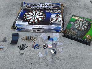 Franklin Pro Wire Bristle Dart Board and Electric Desktop Dartboard for Sale in Fort Lauderdale, FL