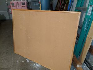 LARGE CORK BOARD!! for Sale in Rancho Cucamonga, CA