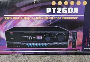 ❤️ Pyle pt 260a 200 watt receiver 💙138 st & 3rd ave Bronx ny for Sale in New York, NY