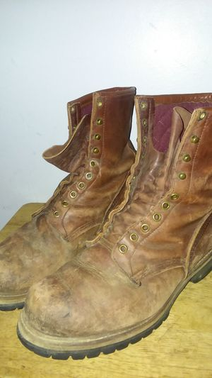 RED WING DISTRESSED LOGGER BOOTS sz 10EE for Sale in Suitland, MD