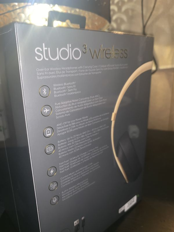 Beats Studio 3 Headphones (wireless)