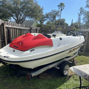 """16.5"""" SeaDoo Bombardier Speedster Jet Boat with Title for Sale in St. Petersburg, FL"""