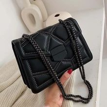 Shoulder Messenger Bag Rivet Chain Small Crossbody Bags For Women for Sale in Orlando,  FL