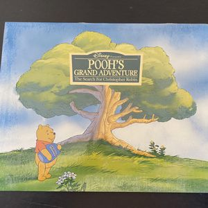Disney's Pooh's Grand adventure Lithograph for Sale in Winder, GA