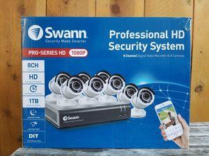 Swann 8 Channel Security System for Sale in Hemet, CA