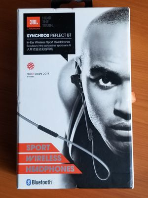 JBL Synchros Reflect BT Bluetooth Wireless In-Ear Headphones NEW for Sale in Oakland, CA
