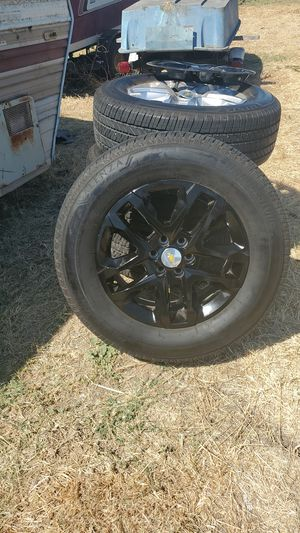 brand new chevy rims with cover for Sale in Stockton, CA