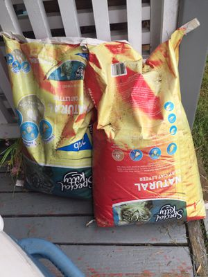 Free cat litter for Sale in Federal Way, WA