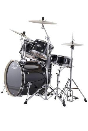 Pearl EXX725/C 5-Piece Export Standard Drum Set with Hardware - Jet Black for Sale in Laguna Beach, CA