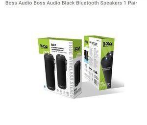 Brand New.... Boss Audio Boss Audio Black Bluetooth Speakers 1 Pair for Sale in Hammond, IN
