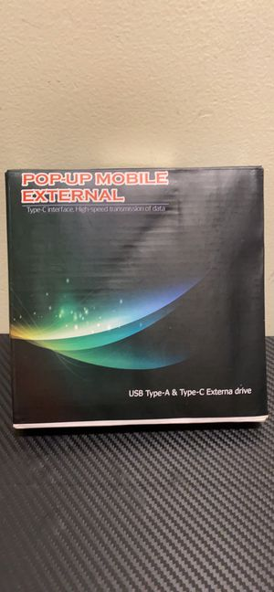 Pop-up mobile external type C interface high speed for Sale in Cambridge, MA