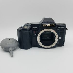Minolta MAXXUM 7000 AF SLR Film Camera Body Tested Working A-Mount for Sale in Bethesda, MD