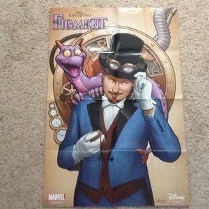 Disney's Figment Poster for Sale in Richlands, NC