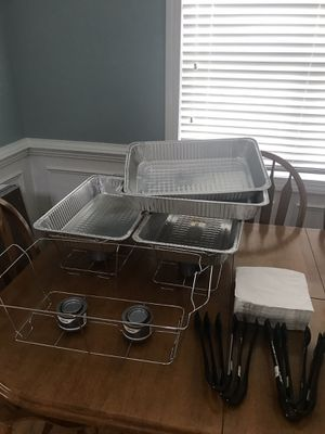 Chafing racks and accessories for Sale in Raleigh, NC