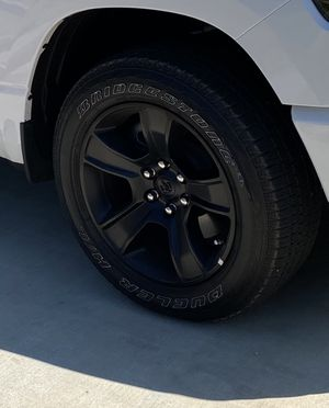 "2020 Ram Rims and Tires ""Night Edition"" for Sale in Santa Clarita, CA"