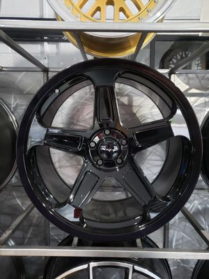 20x9/10.5 staggered gloss black demon replica wheels fit: Challenger , Charger for Sale in Chandler, AZ