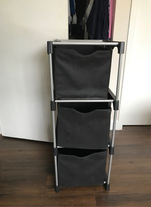 "Set of 3 Collapsible Fabric Cube Storage Bins - 11"" Foldable Cloth Baskets for Shelves, Cubby Organizers & More for Sale in Apopka, FL"