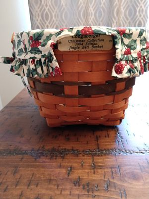 Longaberger Jingle Bell Basket for Sale in DeBary, FL