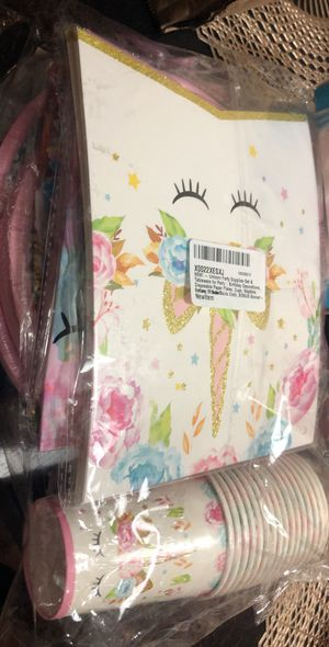 16 guest UNICORN Party supplies for Sale in Santa Clara, CA