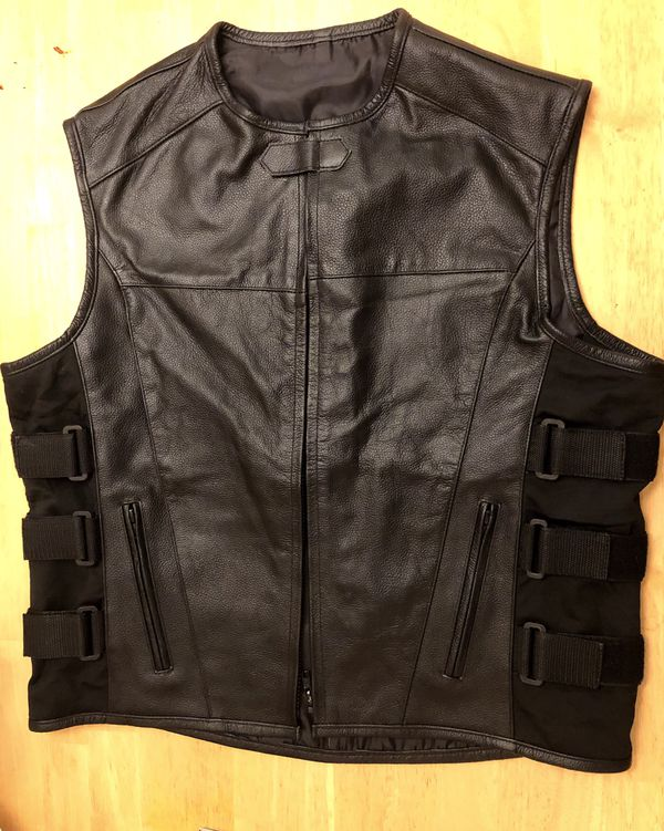 Motorcycle vest (club vest)