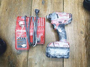 Milwaukee impact drill for Sale in San Jose, CA