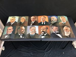 Rare Vintage United States America Presidents Portraits US Pictures for Sale in Lewisville, TX