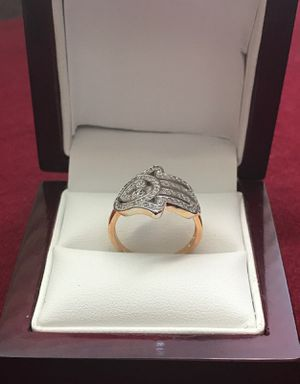 GOLD PLATED HAMSA RING for Sale in Los Angeles, CA