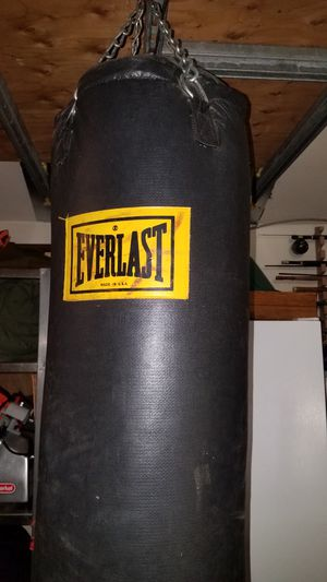 punching bag everlast for Sale in Brier, WA
