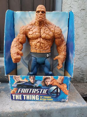 The Thing huge 26 inch action figure Rare fantastic 4 marvel legends toy biz for Sale in Los Angeles, CA