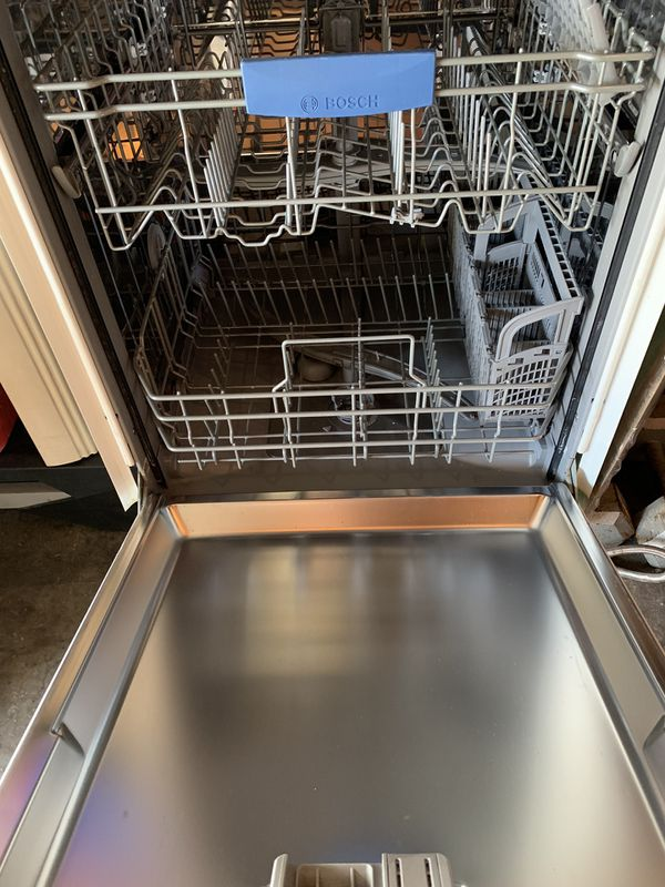 Microwave and dishwasher