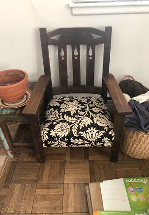 Solid wood chair for Sale in Takoma Park, MD