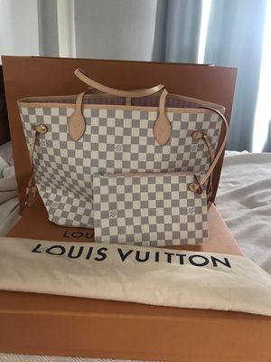 louis vuitton never full GM DAMIER bag for Sale in Queens, NY