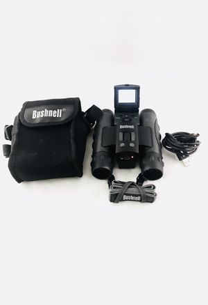 BUSHNELL Outdoor ImageView 8x30mm Digital Binoculars Travel Pouch & USB Included for Sale in Fayetteville, AR