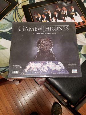 1400 piece collectors version of game of tvrones for Sale in Herndon, VA