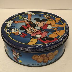 Vintage Disney Cookie Tin for Sale in Alpharetta, GA