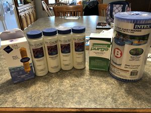 Hot tub chemicals for Sale in Plymouth, MI