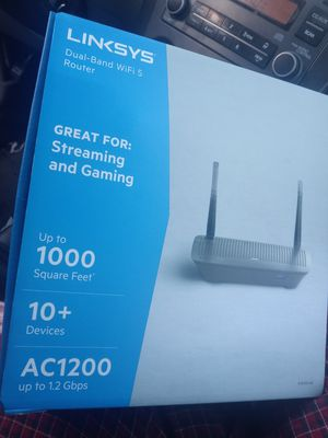 LINKSYS DUAL BAND WIFI 5 ROUTER for Sale in Avondale, AZ