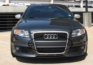 Audi A4 2005.5 2006 2007 grill plate filler grille for Sale in Kirkland, WA