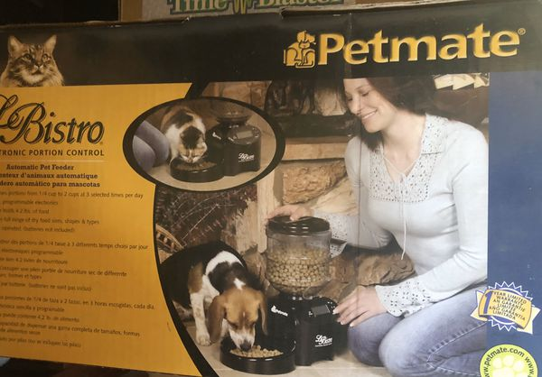 New petmate food dispenser