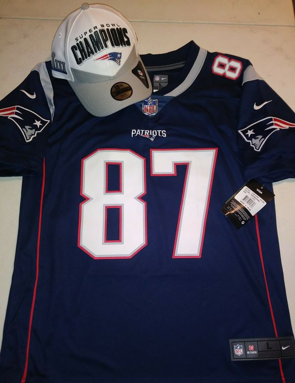 Gronk jersey for youth w/hat